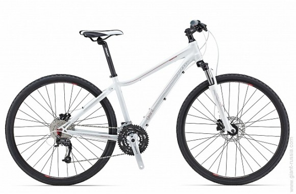 Женский велосипед  велосипед Giant Rove 2 Disc DD (2014)