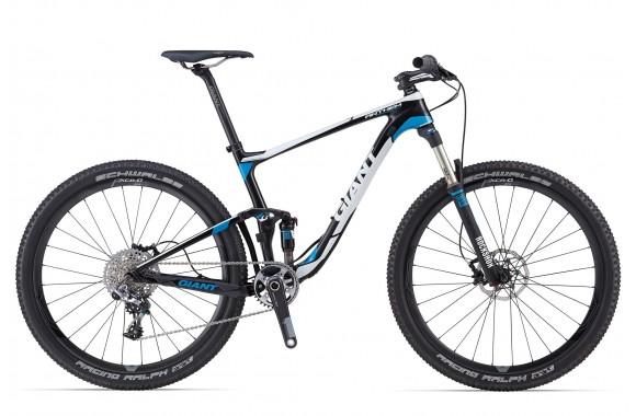 Двухподвесный велосипед Giant Anthem Advanced 27.5 0 Team (2014)