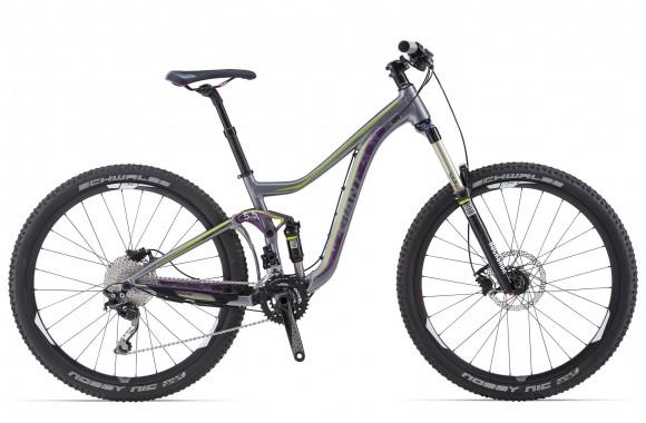 Двухподвесный велосипед Giant Intrigue 27.5 2 (2014)