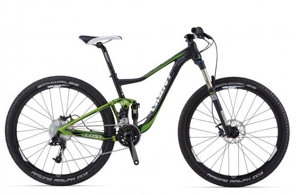 Двухподвесный велосипед Giant Lust 27.5 1 (2014)