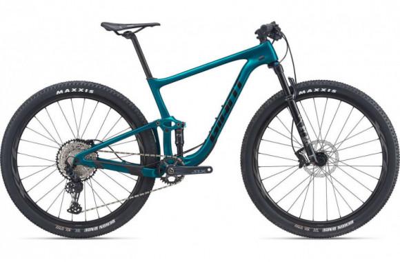 Горный велосипед Giant Anthem Advanced Pro 29 2 (2021) сине-зеленый M