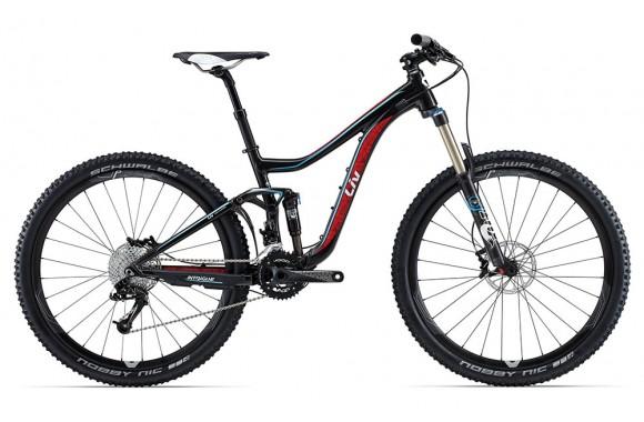 Двухподвесный велосипед  велосипед Giant Intrigue 1 (2015)