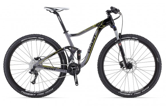 Двухподвесный велосипед  велосипед Giant Trance X 29ER 2 (2013)