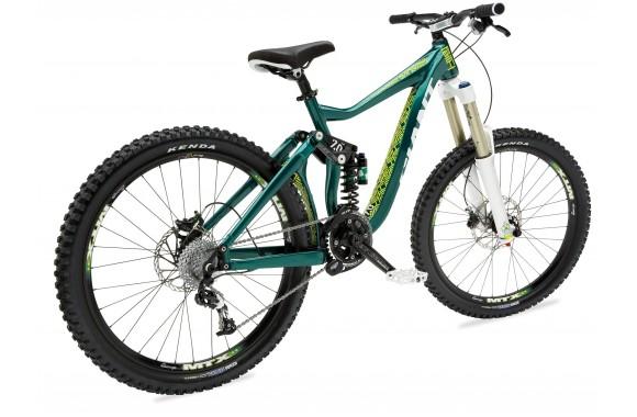 Двухподвесный велосипед Giant Faith 0 (2011)
