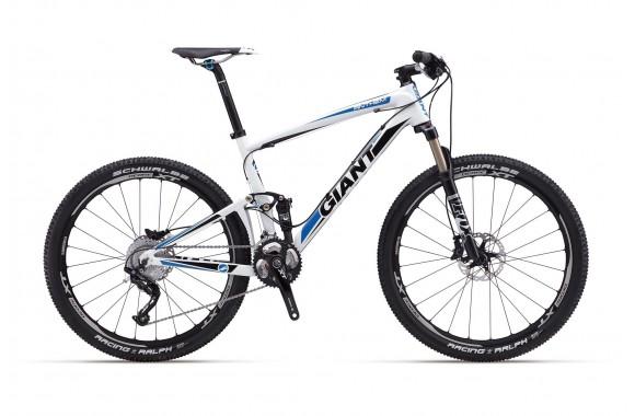 Двухподвесный велосипед Giant Anthem X Advanced 1 (2012)
