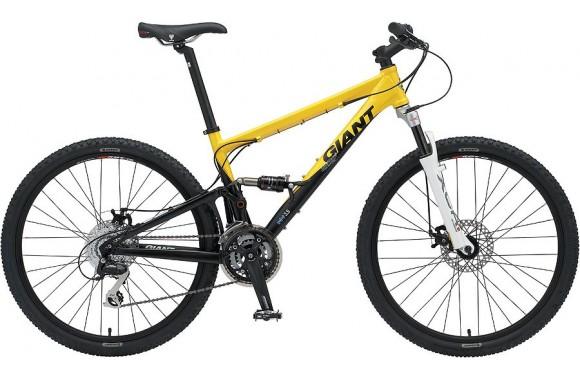 Двухподвесный велосипед Giant ANTHEM S (Alivio) (2008)