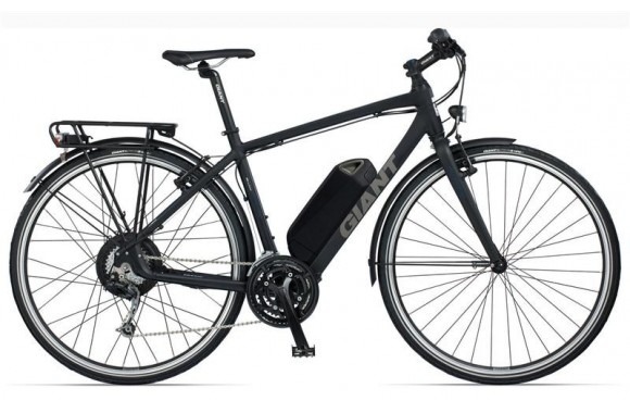 Электровелосипед  велосипед Giant Escape E+ (2014)