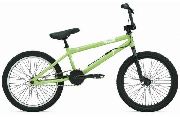 Экстремальный велосипед  велосипед Giant Rhythm Green (2007)