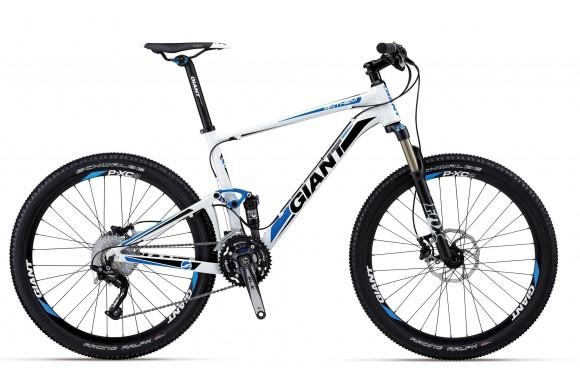 Двухподвесный велосипед Giant Anthem X 2 (2012)