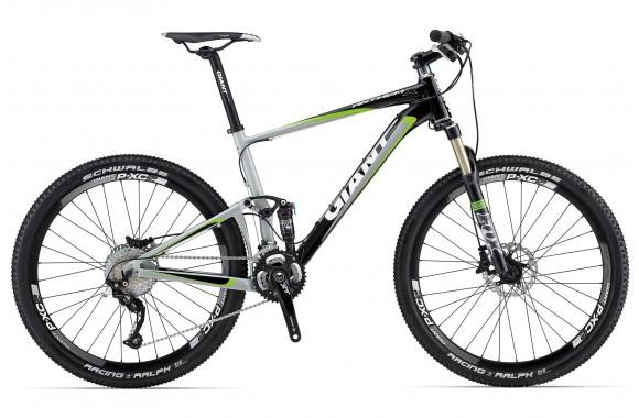 Двухподвесный велосипед Giant Anthem X 1 (2013)