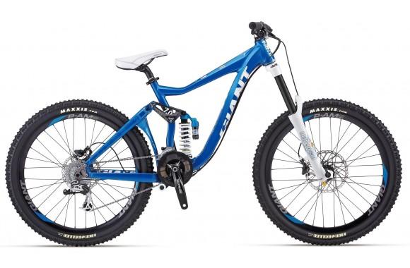 Двухподвесный велосипед Giant Faith 1 (2012)