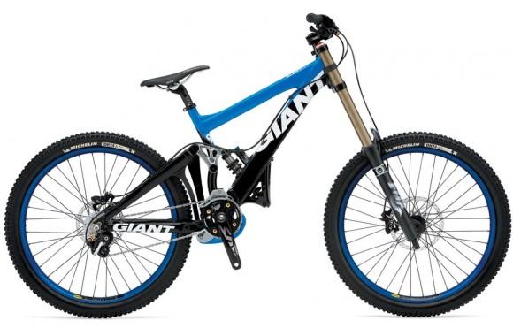 Двухподвесный велосипед  велосипед Giant GLORY DH (2009)