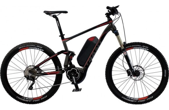 Электровелосипед  велосипед Giant Full E+ 1 (2014)
