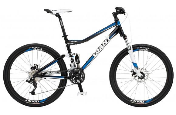 Двухподвесный велосипед  велосипед Giant Yukon FX (2011)