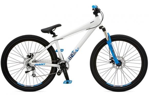 Экстремальный велосипед  велосипед Giant Brass 1 (2009)