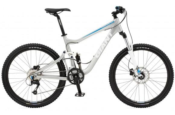 Двухподвесный велосипед  велосипед Giant Trance X4 (2010)