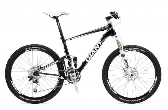 Двухподвесный велосипед Giant Anthem X2 (2011)