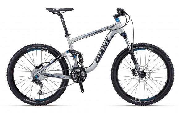 Двухподвесный велосипед Giant Trance X 4 (2012)