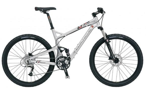 Двухподвесный велосипед  велосипед Giant Trance 3 (2006)