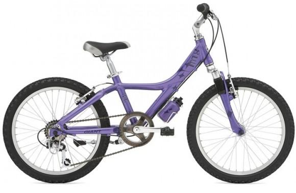 Детский велосипед  велосипед Giant MTX 125 Fs Girls (2007)