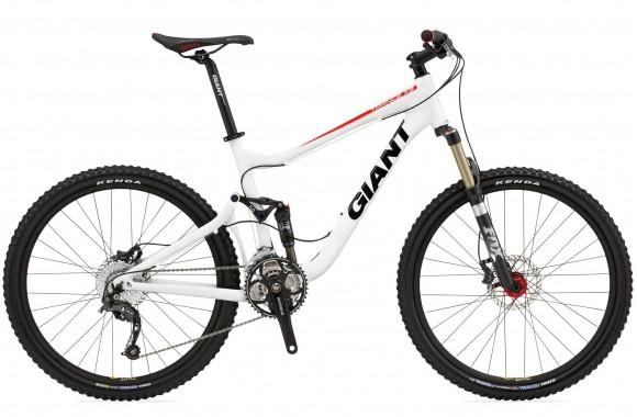 Двухподвесный велосипед Giant Trance X3 (2010)