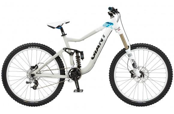 Двухподвесный велосипед Giant Reign SX (2010)