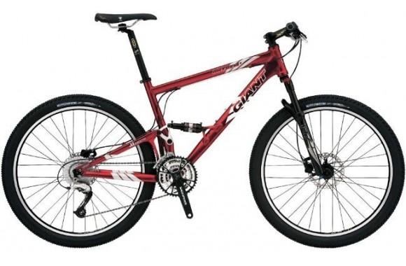 Двухподвесный велосипед Giant Anthem 2 (2006)