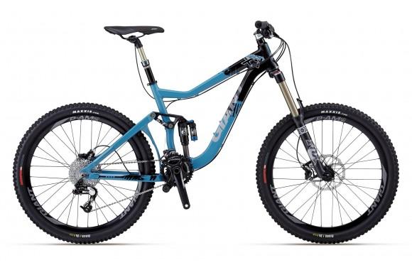 Двухподвесный велосипед  велосипед Giant Reign X 1 (2012)