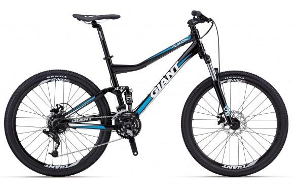 Двухподвесный велосипед  велосипед Giant Yukon FX2 (2012)