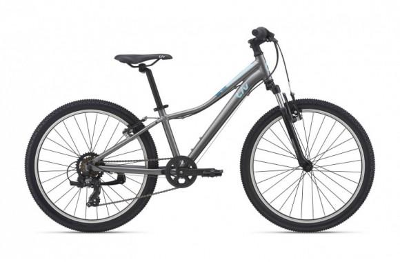 Велосипед Giant Enchant 24 (2021) серебристый Один размер