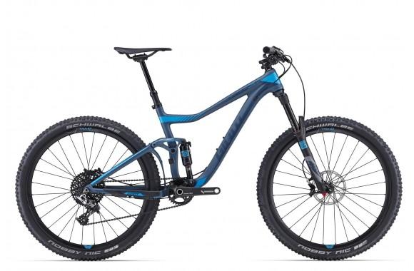 Двухподвесный велосипед Giant Trance Advanced 27.5 0 (2016)