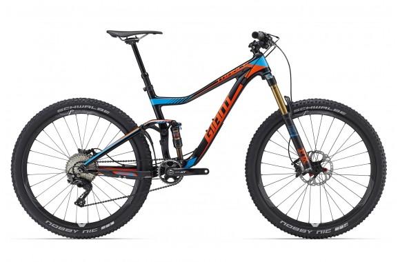 Экстремальный велосипед  велосипед Giant Trance Advanced 27.5 1 (2016)