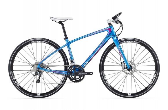 Шоссейный велосипед  велосипед Giant Thrive CoMax 2 Disc (2016)
