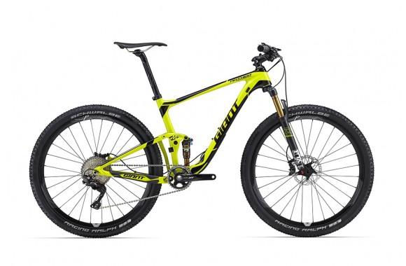 Двухподвесный велосипед  велосипед Giant Anthem Advanced 27.5 1 (2016)