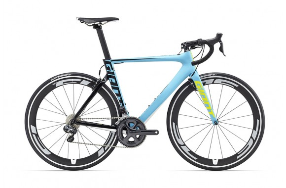 Шоссейный велосипед  велосипед Giant Propel Advanced 0 (2016)