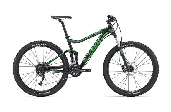 Двухподвесный велосипед  велосипед Giant Stance 27.5 2 (2016)