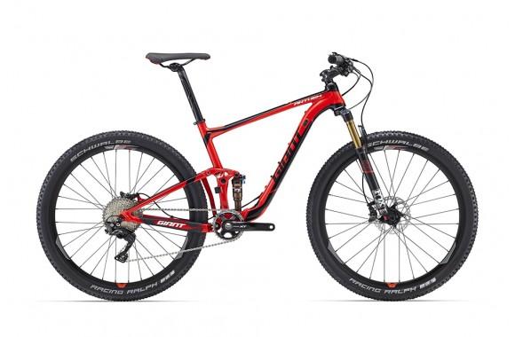 Двухподвесный велосипед  велосипед Giant Anthem 27.5 1 (2016)